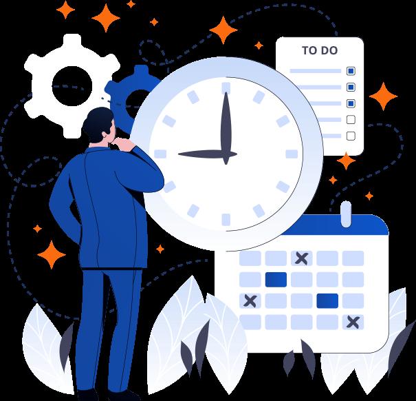 We never miss a deadline
