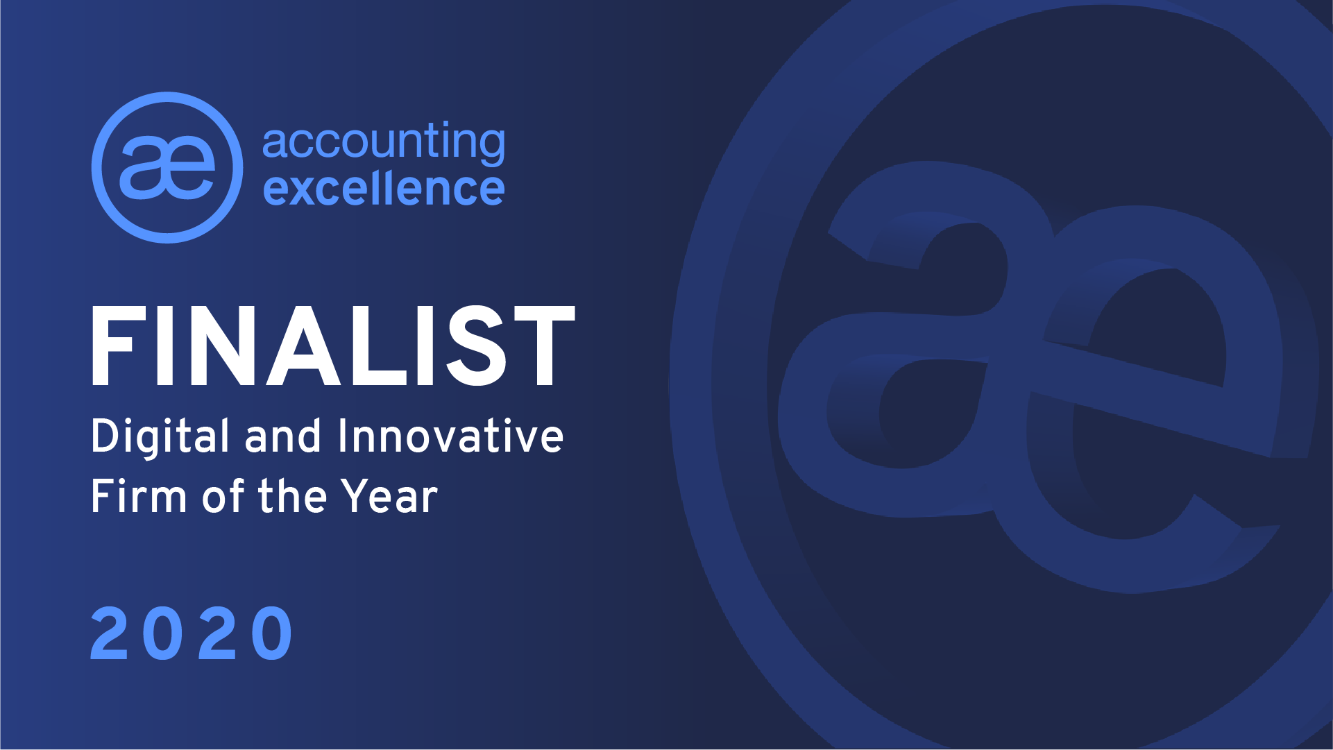 We Run Your Practice Shortlisted for Accounting Excellence Award!