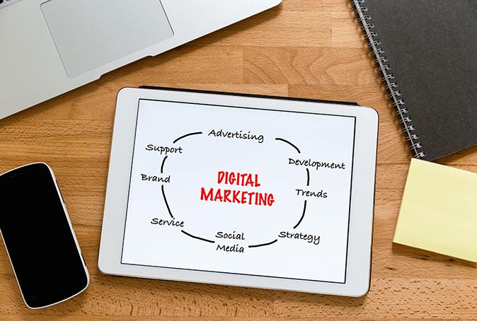 More digital marketing